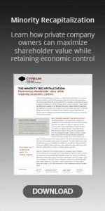 minority recapitalization